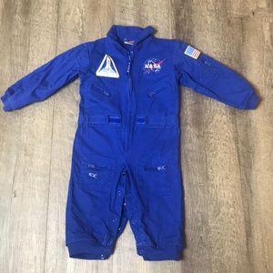 NASA Kids Blue Jumpsuit Costume size 18M
